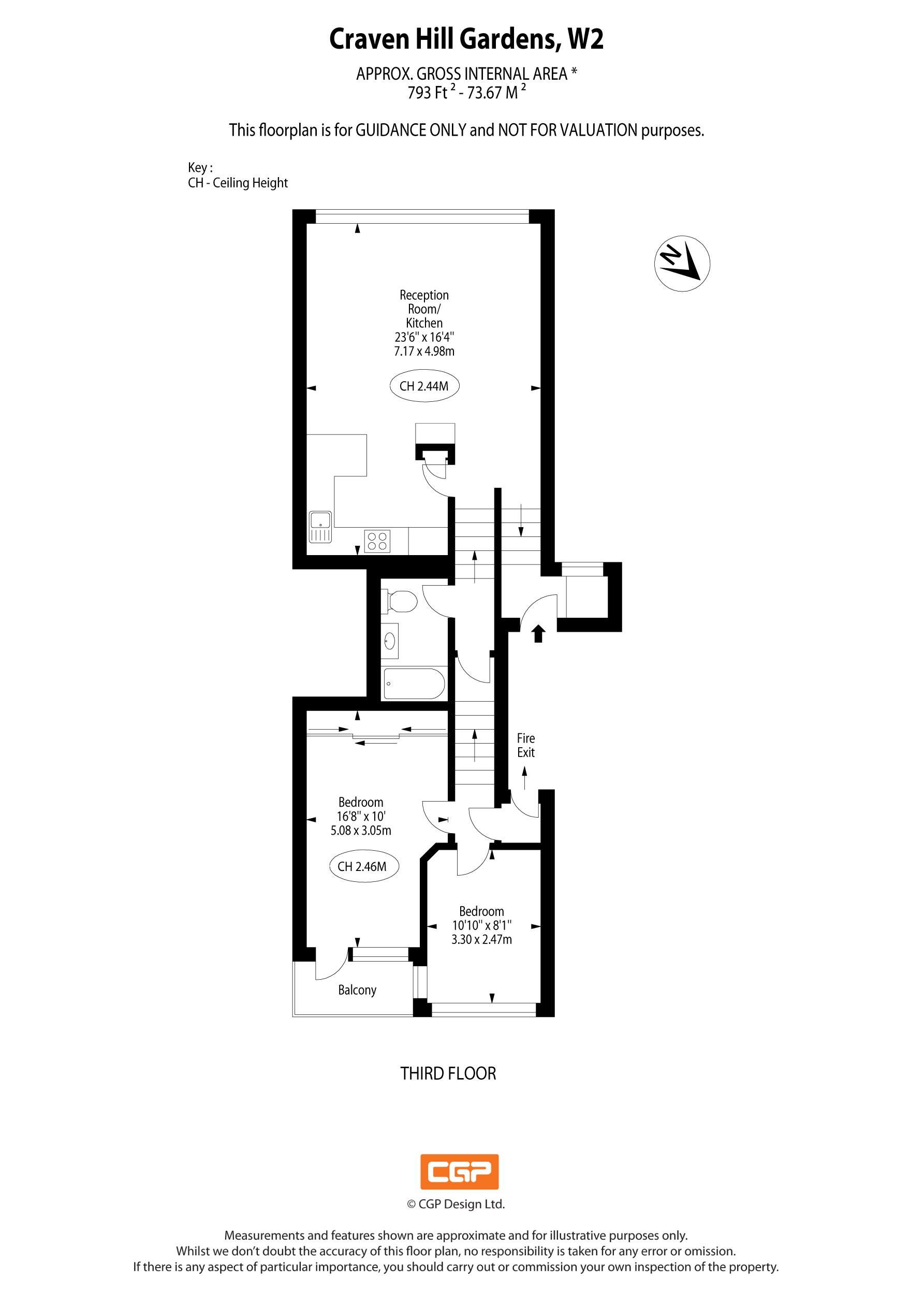 Flat -31,-13-16-Craven-Hill-Gardens-