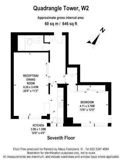 floor plan - 144 quadrangle Tower